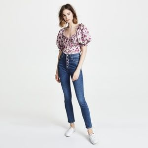 Citizens of Humanity Olivia Exposed Fly Jeans 25
